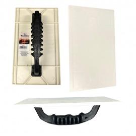 Desempenadeira Plastica Para Grafiato 15x26 cm