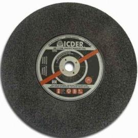 Disco de corte - 10 X 1/8 X 1 - 1 Tela - Icder
