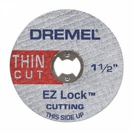 Disco de Corte para Metal Extra Fino - EZ409 EZ Lock - Dremel