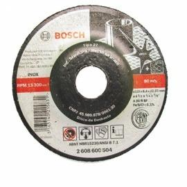 Disco Desbaste 4.1/2 x Inox Gr.30 - Bosch