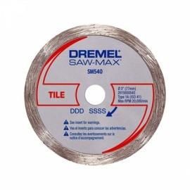 Disco Diamantado Azulejos SAW-MAX DSM540-RW - Dremel