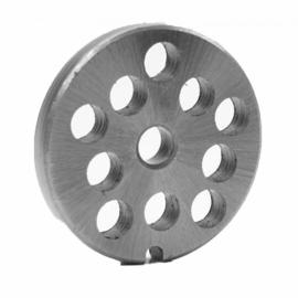 Disco para Moedor Elétrico de Carne - B09 / B5509 / B15209 - 12mm - Botini / Botimetal