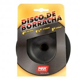 Disco Suporte de Borracha Flexível 4.1/2