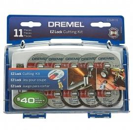 kit De Corte EZ-688 11 Peças  Para Micro Retífica - Dremel