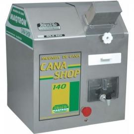 Engenho Para Cana - Shop 140 - Rolete em Inox - Com Motor  - MAQTRON