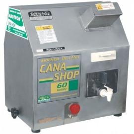 Engenho Para Cana - Shop 60 - Rolete em Inox - Com Motor - MAQTRON