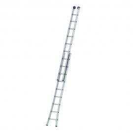 Escada Extensiva 09 Degraus Alumínio - Mor