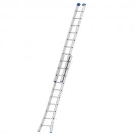 Escada Extensiva 10 Degraus Alumínio - Mor