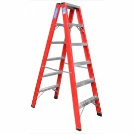 Escada Pintor 8 Degras Fibra de Vidro - Alulev