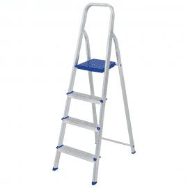 Escada Residencial de Alumínio  4 Degraus - Mor