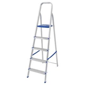 Escada Residencial de Alumínio 5 Degraus - Mor