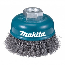 Escova Aço Copo Ondulada - 60 mm x 14 mm - D-24072 - Makita