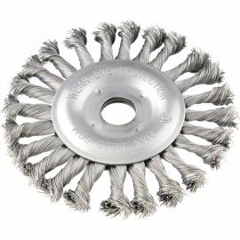Escova de Aço Trançada Para Esmerilhadeira - 7