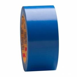 Fita Adesiva Demarcação - 50mm x 30m - Azul - 3m