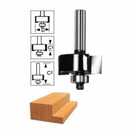 Fresa Reta com Rolamento – 12,7 mm e 1/2 Polegada - Bosch