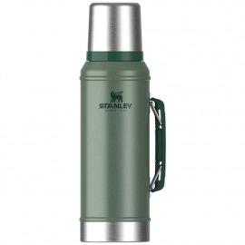 Garrafa Térmica Classic - Hammertone Green - 0,95l - Verde - Stanley