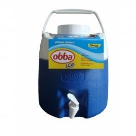 Garrafão Térmico 8 Litros  Azul Com Torneira - Obba