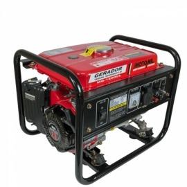Gerador a Gasolina 1,2 KVA - 4 Tempos Monofasico Mod. MG-1200CL  - Motomil