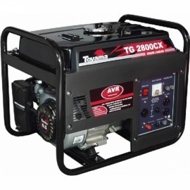 Gerador a Gasolina 2,7KVA - Bivolt  Mod. TG2800CX - Toyama