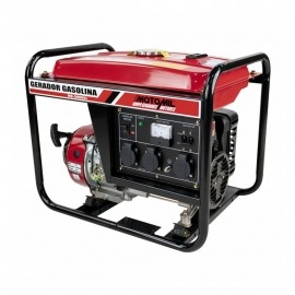 Gerador a Gasolina 2800 Watts - 4 Tempos - MG-3000CL 110/220V - Motomil
