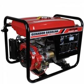 Gerador a Gasolina 2800 Watts - 4 Tempos - MG-3000CLE 110/220V - Motomil