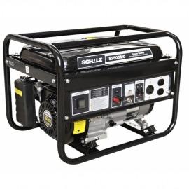 Gerador a Gasolina - 4 tempos - S2500MG - 110/220v - Schulz