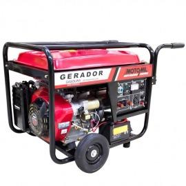 Gerador a Gasolina 8000 Watts - 4 Tempos Mod. MGG-8000E 110/220V - Motomil