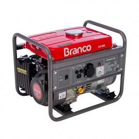 Gerador De Energia À Gasolina B4T 1300 Partida Manual -  220v - Branco