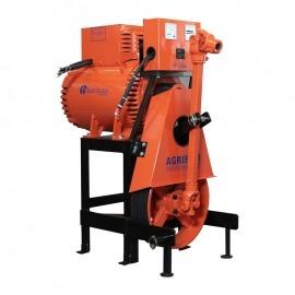 Gerador de Energia Elétrica Bambozzi 15 KVA - para trator - Base Móvel - trifásico - 220v/110v - Bambozzi