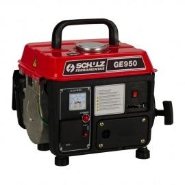Gerador de Energia Portátil à Gasolina - 950VA, 220V - GE950 - Schulz