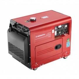 Gerador Diesel BD-6500SE Silencioso 10,0CV - Partida Elétrica - Branco