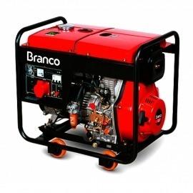 Gerador Diesel BD-8000E3 13,0CV - Partida Elétrica - Trifásico - Branco