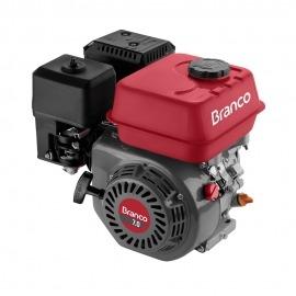Motor a Gasolina - B4T - 7,0cv - Horizontal Partida manual - Com Alerta de Óleo - Branco