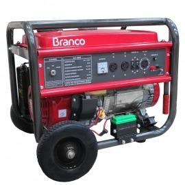 Gerador a Gasolina - B4T 8000 - 15,0cv - Monofásico Partida Elétrica - 110/220 - Branco