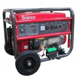 Gerador a Gasolina - B4T 8000E3 - 15,0cv - Trifásico Com Partida Elétrica - 110/220 - Branco