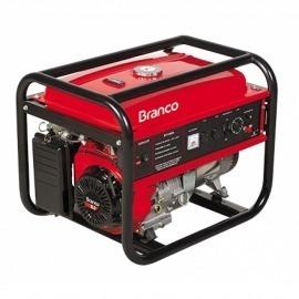Gerador à Gasolina B4T 8000E 15,0CV - Partida Elétrica - Branco