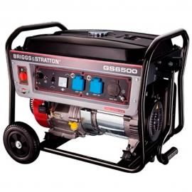 Gerador à Gasolina GS 6500E - Motor 4T 13.5 HP - Partida Elétrica - Briggs & Stratton