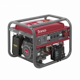 Gerador à Gasolina Trifásico 8 Kva 110/220V - Partida Elétrica B4T-8000 E3 - Branco
