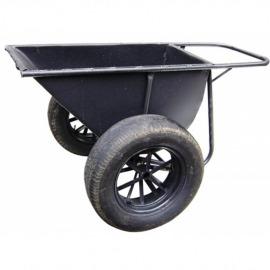 Girica com pneu e câmara - 160l - Metalmaxi