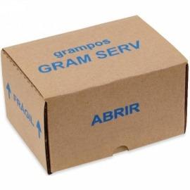Grampo para Grampeador Manual 80/06 - Gram Serv