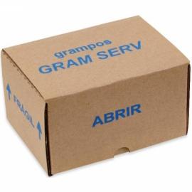 Grampo para Grampeador Manual 80/12 - Gram Serv