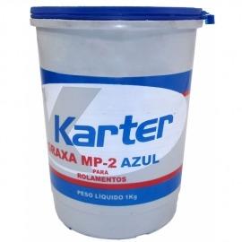 Graxa Azul MP2A 1kg Para Rolamento