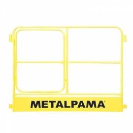 Guarda Corpo de 1,00 x 1,50m com Porta para Andaime - Metalpama