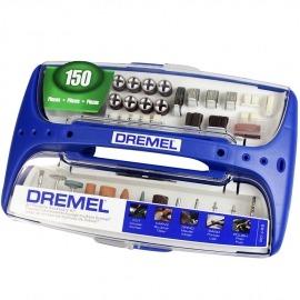 Jogo de Acessórios para Micro Retífica com 150 Pçs - 2615.070.3JB - Dremel