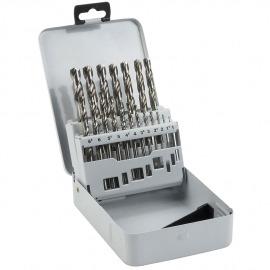 Jogo de Brocas HSS - 1,00 à 10,0mm Com 19 Peças - Bosch