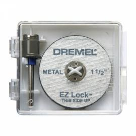 Kit com 1 Mandril e 5 Discos para Metal - EZ406 EZ Lock - Dremel