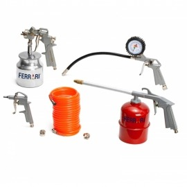 Kit de Acessórios para Compressor - RATK-A Com 5 Peças - Ferrari