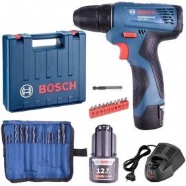 Kit Furadeira e Parafusadeira - GSR120-li - 19F7 - Bosch