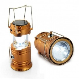 Lanterna Campismo Recarregável - 6  + 1  LED`S
