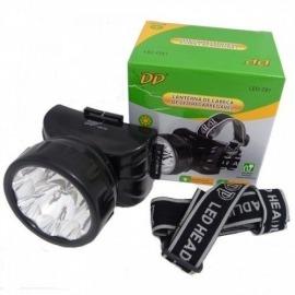 Lanterna de LED Profissional para Cabeça - DP-781 Recarregável